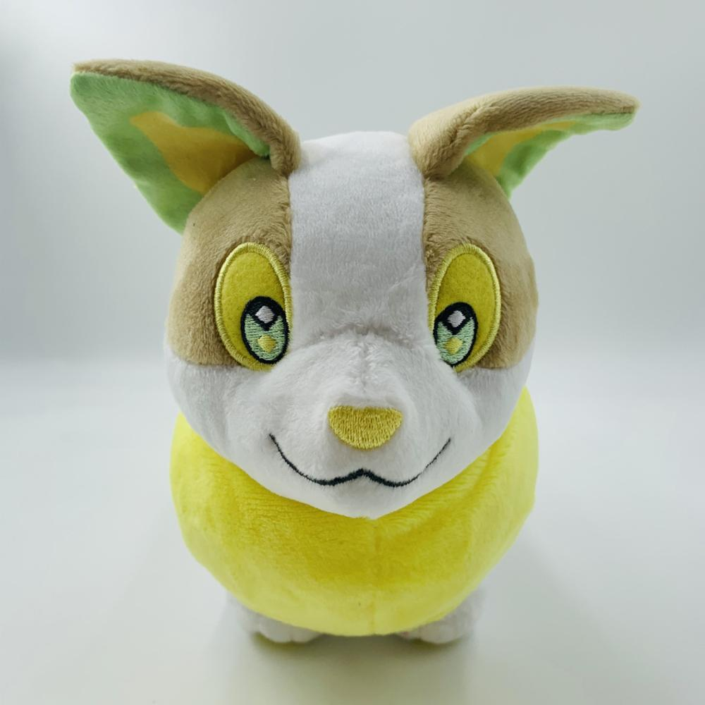 Sobble Scorbunny Grookey Cartoon Elf figure plush soft stuffed Collection toys for Children Christmas gift peluches 5