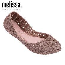Melissa adulto campana Женская Желейная обувь дышащая сандалии