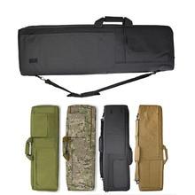 Tactical 85CM/100CM Rifle Bag Shotgun Gun Case for AR 15 AK 47 M4 M16 Sniper Rifle Protection Shoulder Bag With Padded Cushion