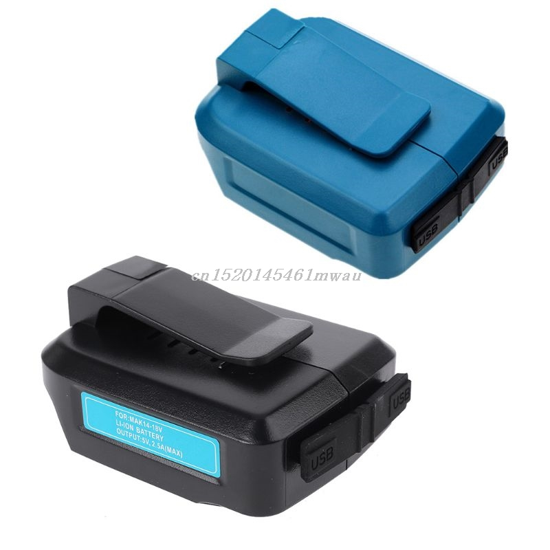 USB Power Charging Adapter Converter For MAKITA ADP05 14-18V Li-ion Battery New New 2019
