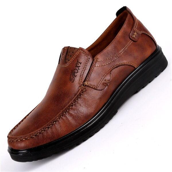 2019 New Comfortable Mens Casual Shoes Hot Sale Loafers Men Shoes Faux Suede Men Flats Moccasins Shoes Big Size 38-48