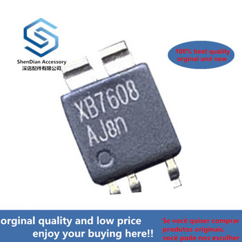 12pcs XB7608AJ CPC5 XB7608 XYSEMI  5V 2.4A IC Chip For Lithium Battery Protection In Stock
