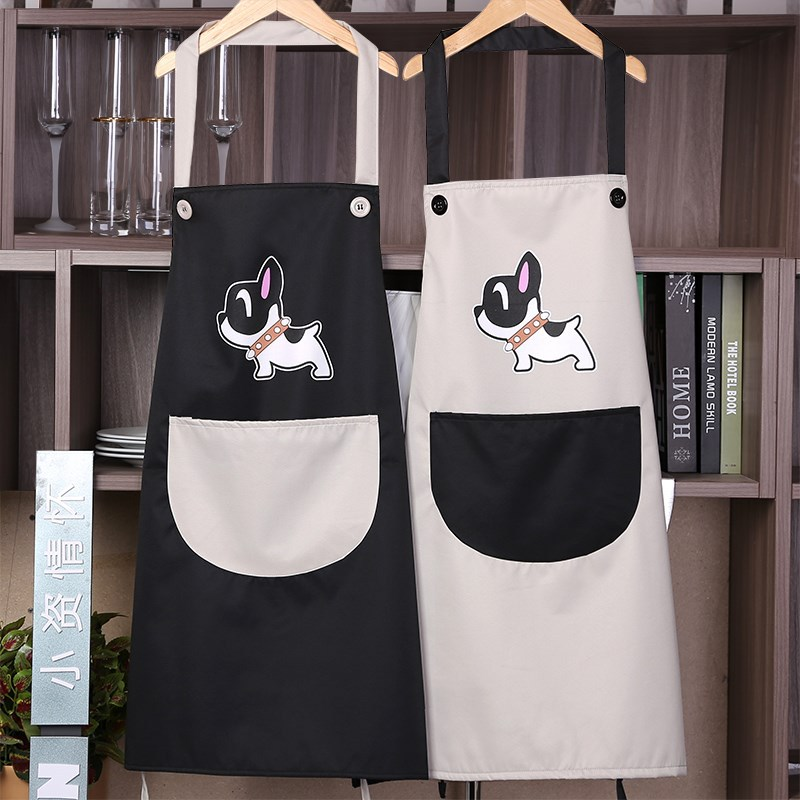 Women's Protective Clothing Painting Apron Adult Pigment Art Students Waterproof Oil Resistant Cute Painted Cartoon