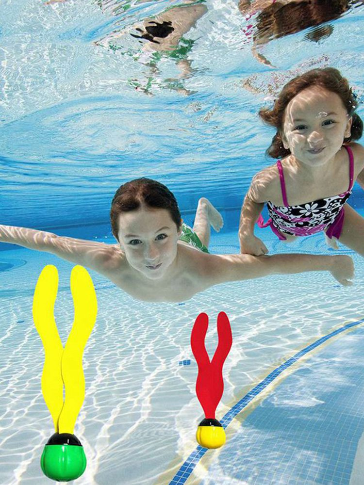 3PCS Summer Toys Seaweed Diving Toy Water Games Pool Games Child Underwater Diving Seaweed Toy Sports Parent-Child Gifts For Kid