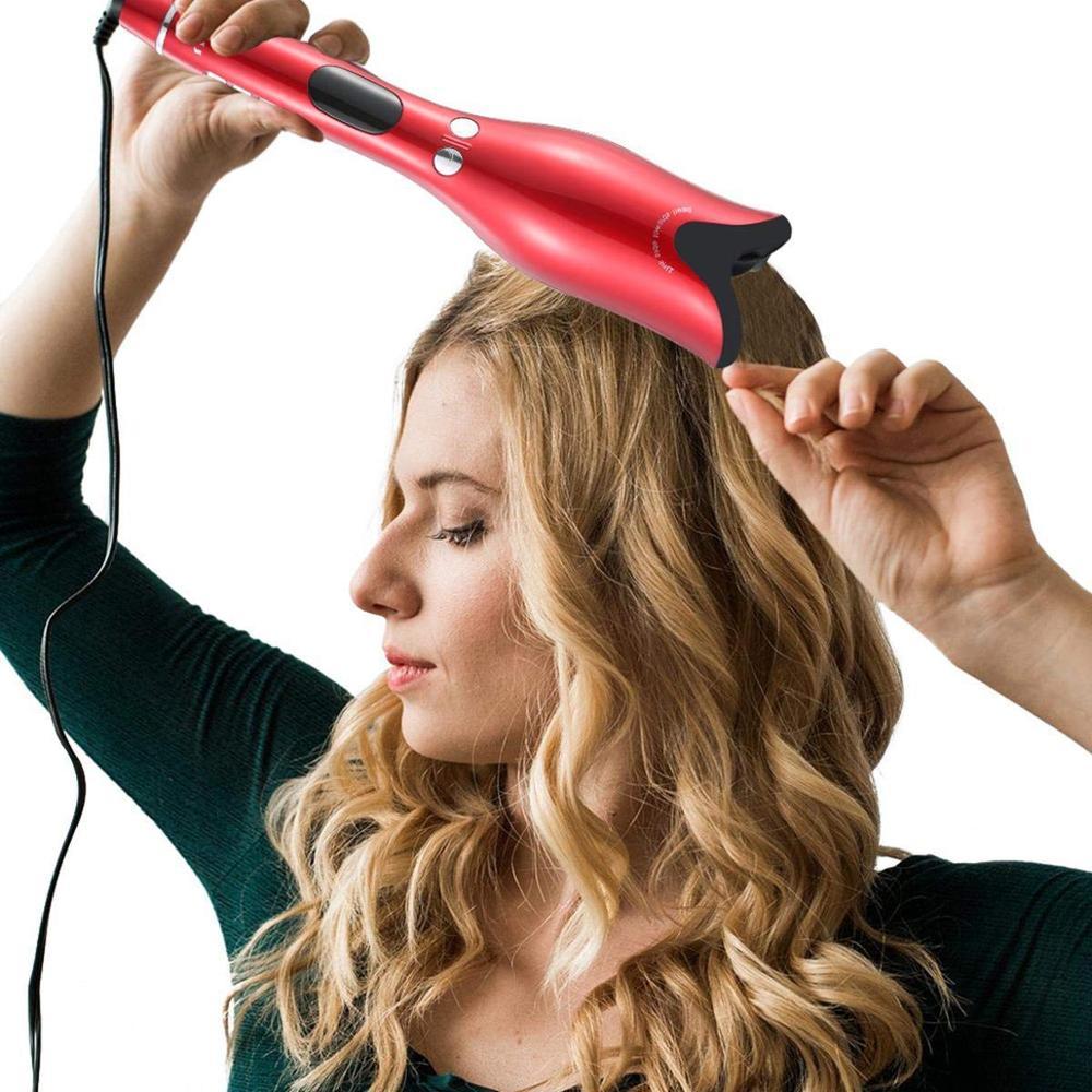 Cheveux professionnels Air Spin Curl 1 pouce en céramique rotatif électrique Air Spin bigoudis fer à friser automatique pour tous les Types de cheveux - 6