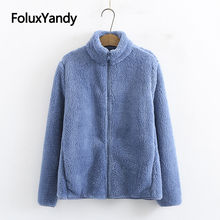 6 цветов флисовая женская куртка весенне осеннее пальто верхняя
