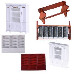 Multi-style maison de poupée Mini armoire modèle cuisine salle à manger présentoir blanc maison de poupée décoration Miniature accessoires de cuisine
