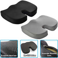 Breathable Memory Foam Seat Cushion Orthopedic Chair Pad for Support In Office Desk Chair Car