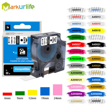 Markurlife Multicolor 45013 40913 43613 45018 40918 45016 Compatible for Dymo Label Tapes for Dymo LM160 LM280 43613 458