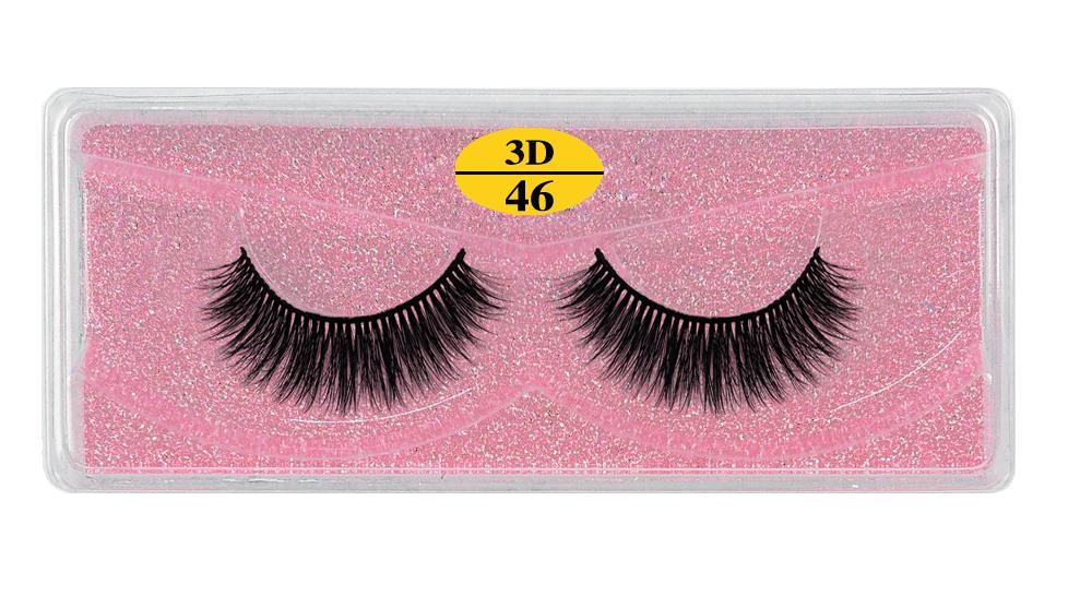 H8203888a19984bd5acd8715e517f0c44E - MB Eyelashes Wholesale 40/50/100/200pcs 6D Mink Lashes Natural False Eyelashes Long Set faux cils Bulk Makeup wholesale lashes