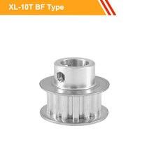 XL 10T шкив ремня 11 мм Ширина ремня XL Тип Алюминиевый шкив колеса 3,175/4/5/6/6.35 мм шкив передачи отверстия