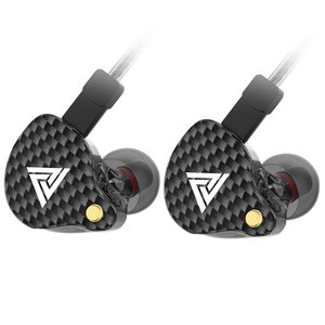 Image 3 - QKZ VK4 אוזניות 3.5mm Wired אוזניות ספורט HIFI בס רעש בטל באוזן אוזניות להסרה כבל אוזניות