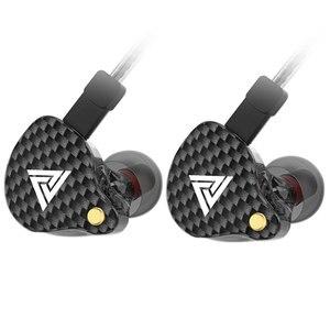 Image 3 - QKZ VK4 écouteur 3.5mm filaire écouteurs Sport HIFI basse suppression de bruit dans loreille casque détachable câble écouteur