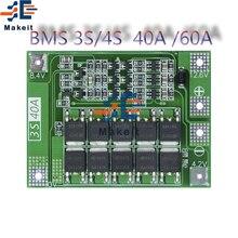 Bms 3s/4S 12v/24v li-ion bateria de lítio carregador placa de proteção 18650 para o motor de broca 11.1v 12.6v/14.8v 16.8v melhorar o equilíbrio
