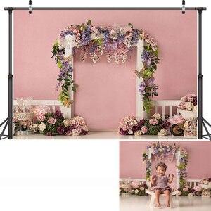 Image 5 - خلفية تصوير للأطفال حديثي الولادة ، خلفية لحفلة عيد الميلاد الأول ، استوديو الصور ، للأطفال والكبار
