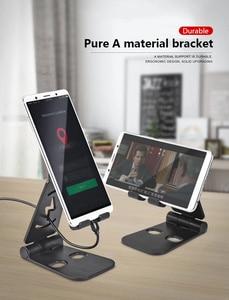 Mini Mobile Phone Holder Seat Desktop Foldable Desk Stand Holder Degrees Adjustable Universal For IPhone Xiaomi Andorid Phone