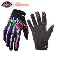 RIGWARL Moto gants Joint impression Moto équitation écran tactile Motocross Dirt Bike vtt cyclisme gants Gant Moto gants