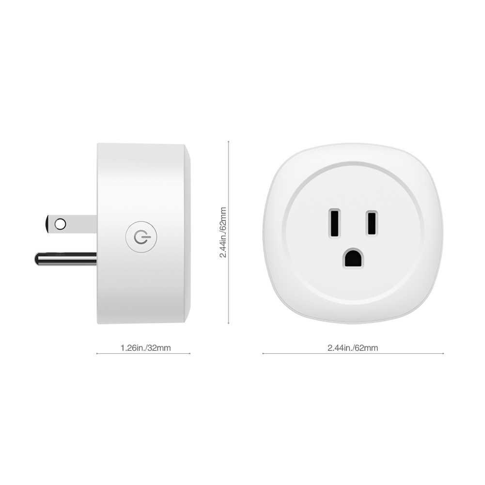 المنزل الذكي أفضل USB شاحن جدار مزود بمنفذ محول AC120V الولايات المتحدة القياسية اليكسا الولايات المتحدة وكندا فقط