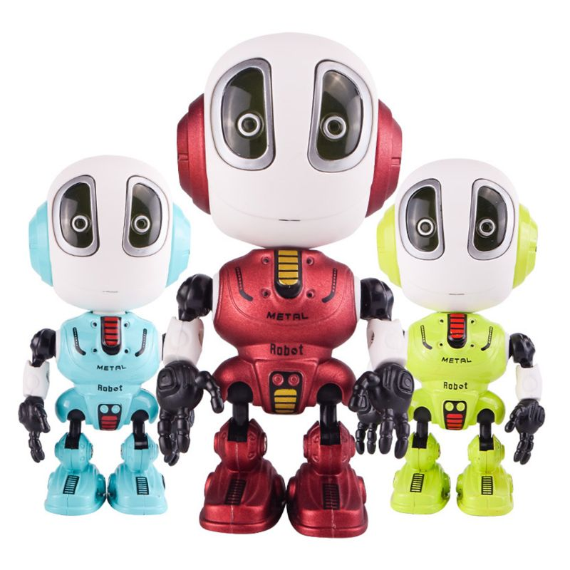 Touch Sensitive Robot Toys for Kids Christmas Stocking Stuffers with LED Lights and Sound and Light Recording Room T8ND