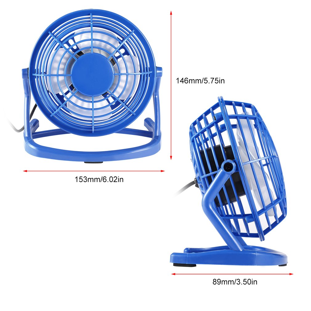 Купить с кэшбэком Portable DC 5V Small Desk USB 4 Blades Cooler Cooling Fan USB Mini Fans Operation Super Mute Silent PC / Laptop / Notebook