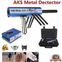 Metall/Gold Detektor AKS Haltegriff Pro 6000M Reicht 6 Antenne Diamant Finder w/Fall Gold Detektor Schatz jäger Erfassen