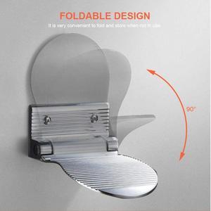 Противоскользящая подставка для ног для дома, отеля, туалета, ванной комнаты, настенная педаль для душа, бытовые принадлежности