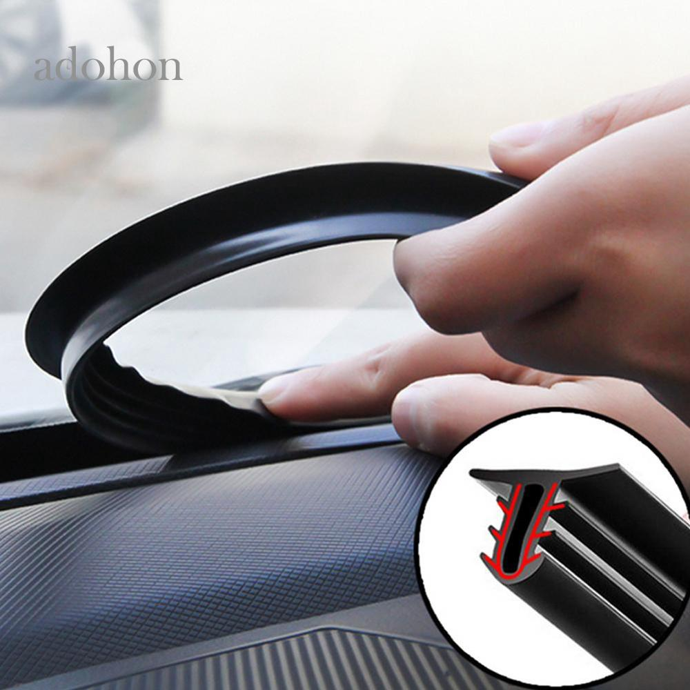 Car Dashboard Sealing Strips Weatherstrip Rubber Seals Sound Insulation Sealing Universal Automobiles Interior Accessories Goods