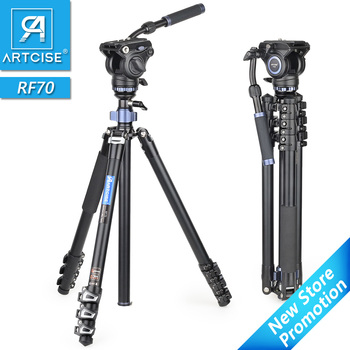 Professional Heavy Duty Video Tripod Fast Flip Lock Panoramic Fluid Head with Half Ball Bowl for Digital DSLR Camera Camcorder panoramic tripod head hydraulic fluid video head for tripod monopod dslr camera camcorder dv professional pan head extra plate