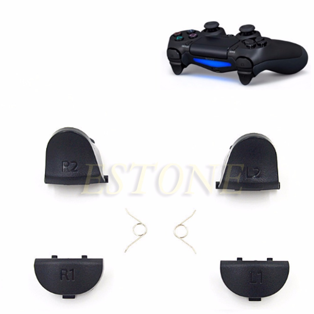 1 Set L1 R1 L2 R2 Trigger Buttons Button & Spring For Sony PS4 Controller Dual Shock 4