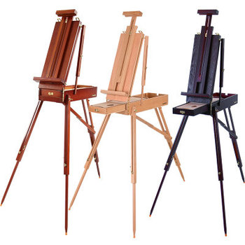 Beech Wood Small Oil Paint Easel For Artist Drawing Easel Set Female Portable Easel Stand For Girls
