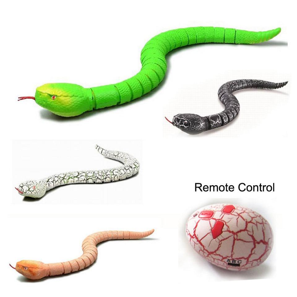 Trick Terrifying Mischief Toy Remote Control Snake Rattlesnake Animal