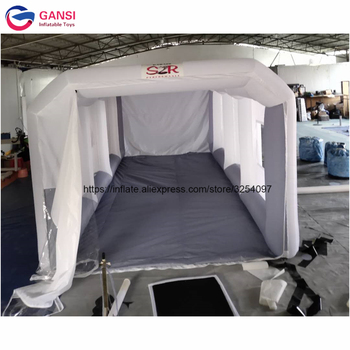 Free Shipping To Door Inflatable Spray Booth Inflatable Spray Paint Tent Booth For Car hot selling paint booth inflatable portable paint booth inflatable car tent inflatable spray booth for car tent toys