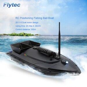 Flytec 2011-5V RC Boat Bait fi