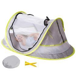 Enfant namiot plażowy dla dzieci ochrona UV składana moskitiera Outdoor Camping dzieci dzieci łóżko dla małego dziecka w Łóżka dziecięce od Meble na