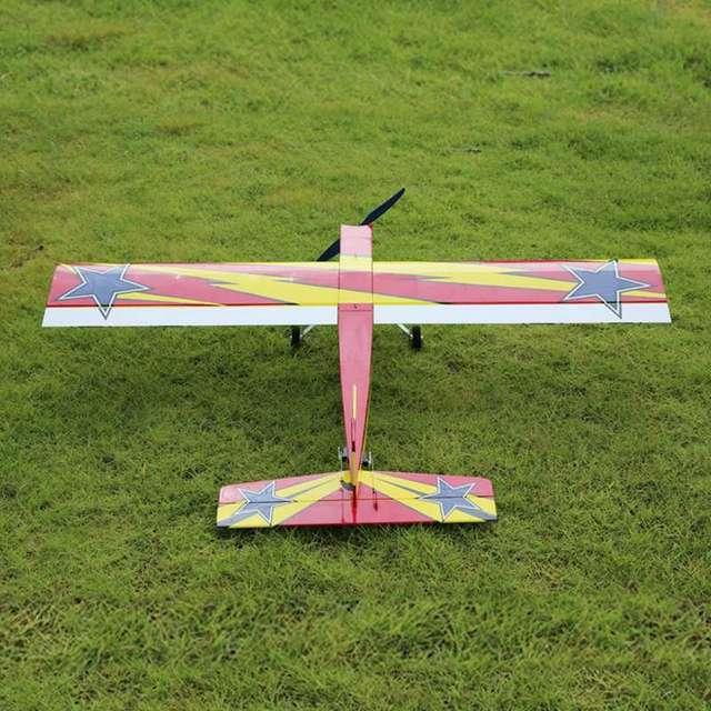 أومفيبي تشالينجر 49 GP 1250 مللي متر وينغسبان بلاسا الخشب RC طائرة المدرب Warbird عدة الإصدار RC في الهواء الطلق طائرات بدون طيار لعبة للمبتدئين 4