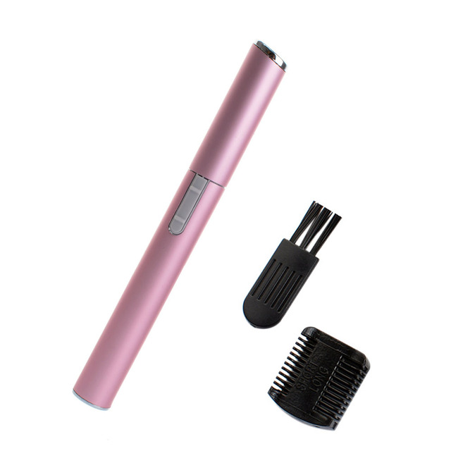 Hot 2 Colors Practical Electric Face Eyebrow Scissors Hair Trimmer Mini Portable Women Body Shaver Remover Blade Razor Epilator 2
