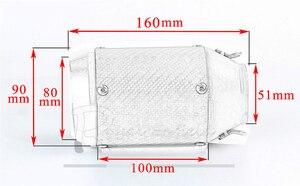 Image 2 - CBR650 أنبوب عادم كامل من الفولاذ المقاوم للصدأ على جانب الصف الأمامي Tntact CBR 650 لهوندا CB650F CBR650F 2014 2018 17