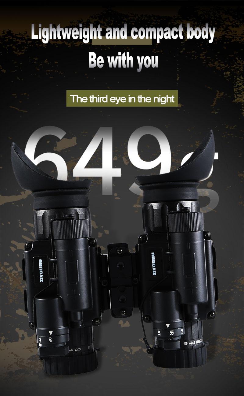 H82061909b2c34a2abfbf9a17bf811f68F - แว่นมองภาพกลางคืน กล้องมองภาพในที่มืดติดหัว IR Night Vision แว่นกลางคืน อินฟาเรตจับความร้อน เกรดใช้ในกองทัพทหาร ปฏิบัติการยุทธวิธีกลางคืน  <ul>  <li>แว่นตามองกลางคืนแบบสวมหัว</li>  <li>แว่นอินฟาเรต จับภาพด้วยความร้อน</li>  <li>ผลิตภัณฑ์เกรดกองทัพ</li>  <li>สามารถแยกส่วนเป็น 2ชิ้น ซ้าย-ขวา</li>  <li>มีฟังชั่นการซูมแบบกล้องส่องทางไกล</li>  <li>ของแท้ การรับประกัน 1ปี โดยผู้ผลิตในต่างประเทศ</li> </ul>