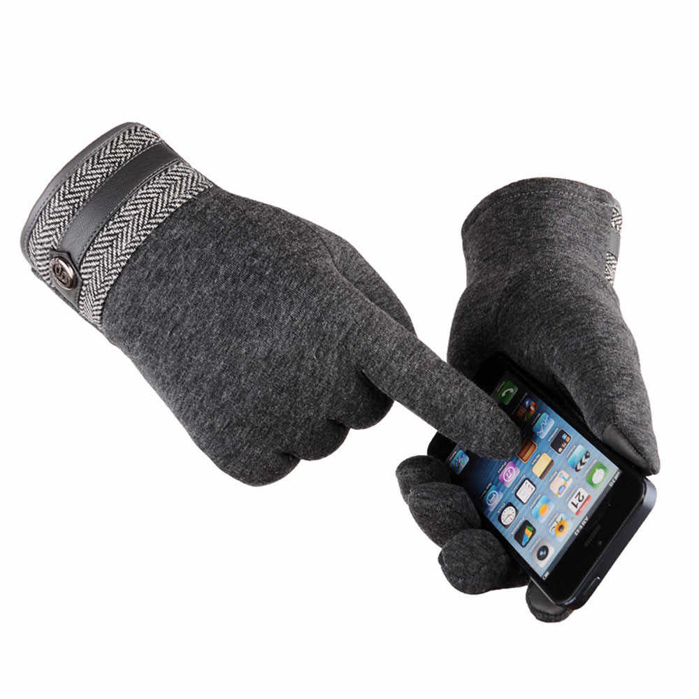 メンズ · レディースのタッチスクリーン手袋熱オートバイスノーボード防風暖かい手袋冬の手袋 Handschoenen ガントファム-