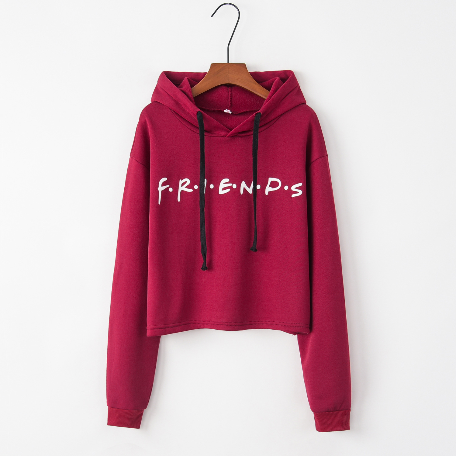 Red Friends 2020 New Design Hot Sale Hoodies Sweatshirts Women Casual Kawaii Harajuku Sweat Girls European Tops Korean