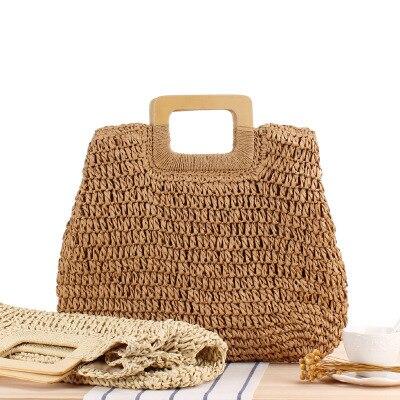 Handmade Woven Shoulder Bag  6