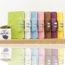 Korean Kawaii Password Lock Notebook School Planner For Writing Painting Diary Journal Boys Girls Stationery Supplies Child Gift