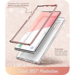 Image 3 - Чехол для Samsung Galaxy Note 10 Plus (2019) i Blason Cosmo полностью блестящий Мраморный чехол без встроенной защитной пленки для экрана