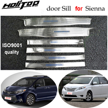 Threshold Toyota Match ISO9001 for Sienna Door-Sill/scuff-Plate 6pcs 304-stainless-steel/Iso9001/Quality-guarantee