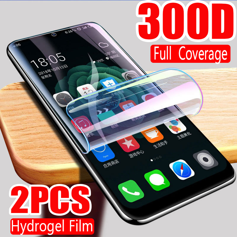 300D Full Cover Hydrogel Film For IPhone 11 Pro XR X XS MAX Screen Protector For IPhone 6S 6 7 8 Plus Protective Film Not Glass