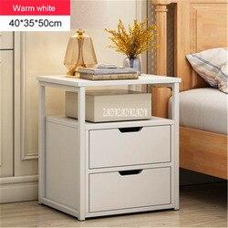 Многофункциональный прикроватный шкафчик, прикроватный столик, Скандинавский современный шкафчик для хранения тумбочки, домашний простой...