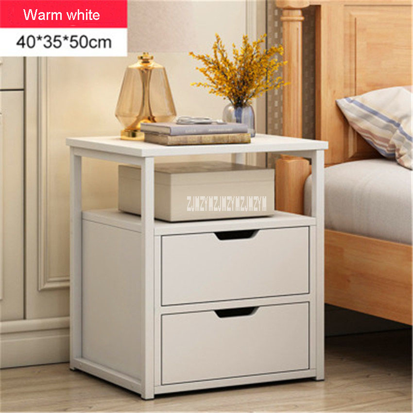 Multifunction Bedside Locker Bedside Table Nordic Modern Bedside Table Storage Locker Household Bedroom Simple Economic Cabinet