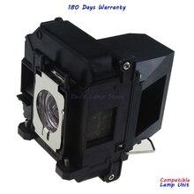 Pour ELPLP60 Lampe De Projecteur avec Boîtier pour Epson 425Wi 430i 435Wi EB 900 EB 905 420 425W 905 92 93 + 93 915W EB C1010X