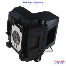 Voor ELPLP60 Projector Lamp met Behuizing voor Epson 425Wi 430i 435Wi EB 900 EB 905 420 425W 905 92 93 + 93 915W EB C1010X