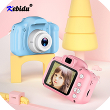 Kebidu Children Mini Camera Kids Educational Toys HD 2.0Inch LCD Compact Digital Camera Display Screen Kids Camera For Gift